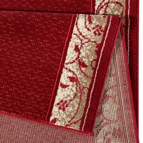 Koberec Basic Elegance, 80x400 cm, červený