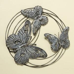 Nástenná dekorácia Butterflies, 58 cm
