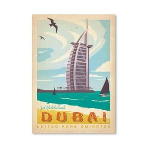 Plagát Americanflat Dubai, 42 x 30 cm