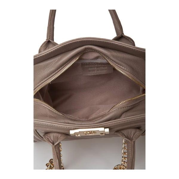 Kožená kabelka Markese 6397 Taupe