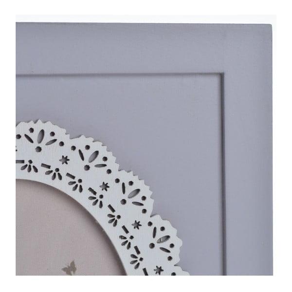 Drevený rámik Romantic, 22,5x17,5 cm