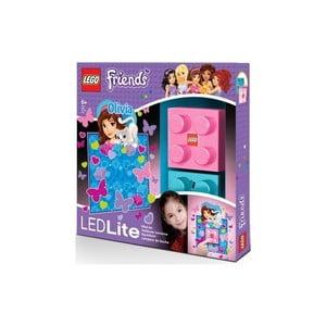 Detské nočné svetlo LEGO Friends Olivia