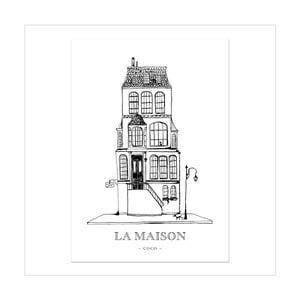 Plagát Leo La Douce La Maison Coco, 21x29,7cm