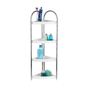 Rohová polica Premier Housewares Corner Storage Four Tiers