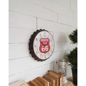 Nástenné hodiny Route 66, 34 cm