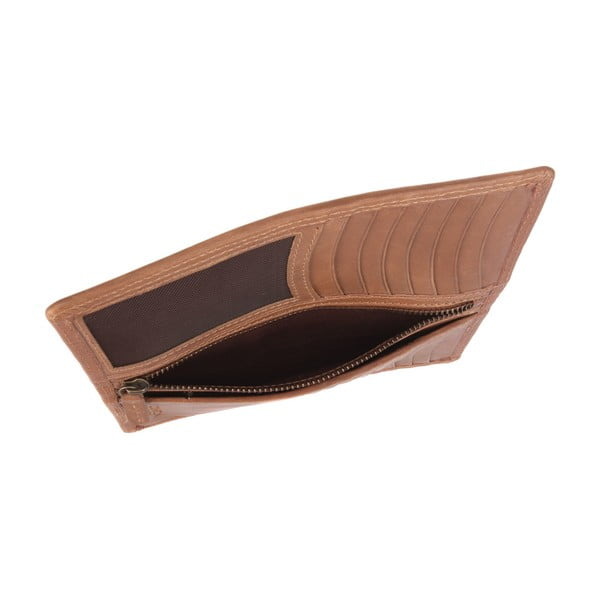 Kožená peňaženka Hamilton Chestnut