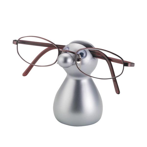 Stojanček na okuliare Guido, strieborný