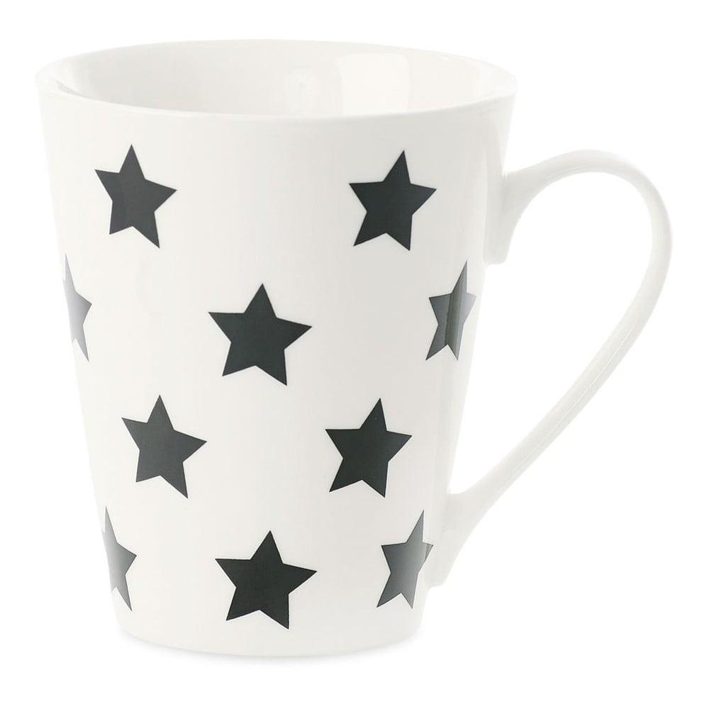 Keramický hrnček Miss Étoile Coffee Black Stars