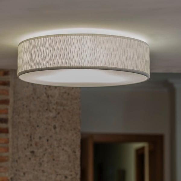 Biele stropné svietidlo Bulb Attack Once, ⌀ 40 cm