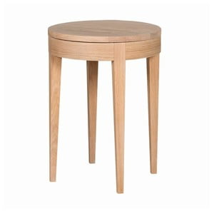 Odkladací stolík Secret Oak, 55x40 cm