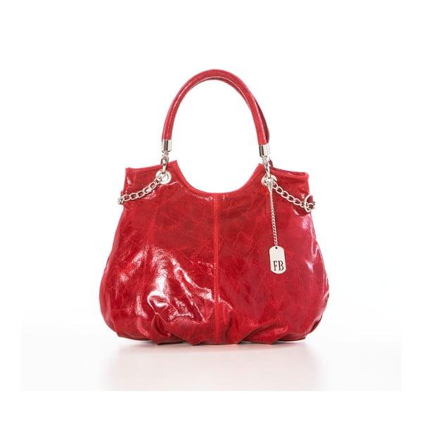 Kožená kabelka Elephant Red