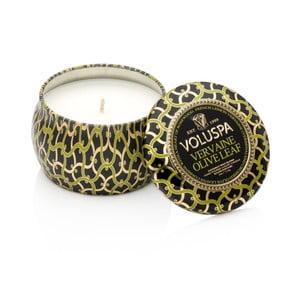 Sviečka s vôňou citrónovej verbeny, palisandrového dreva a olivových listov Voluspa Decorative, 25 hodín horenia
