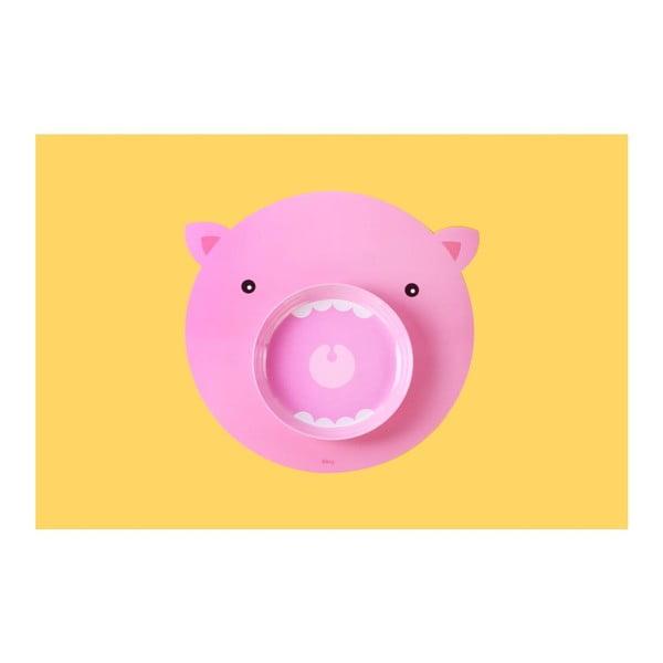 Sada prestierania a taniera DOIY Hungry Pig