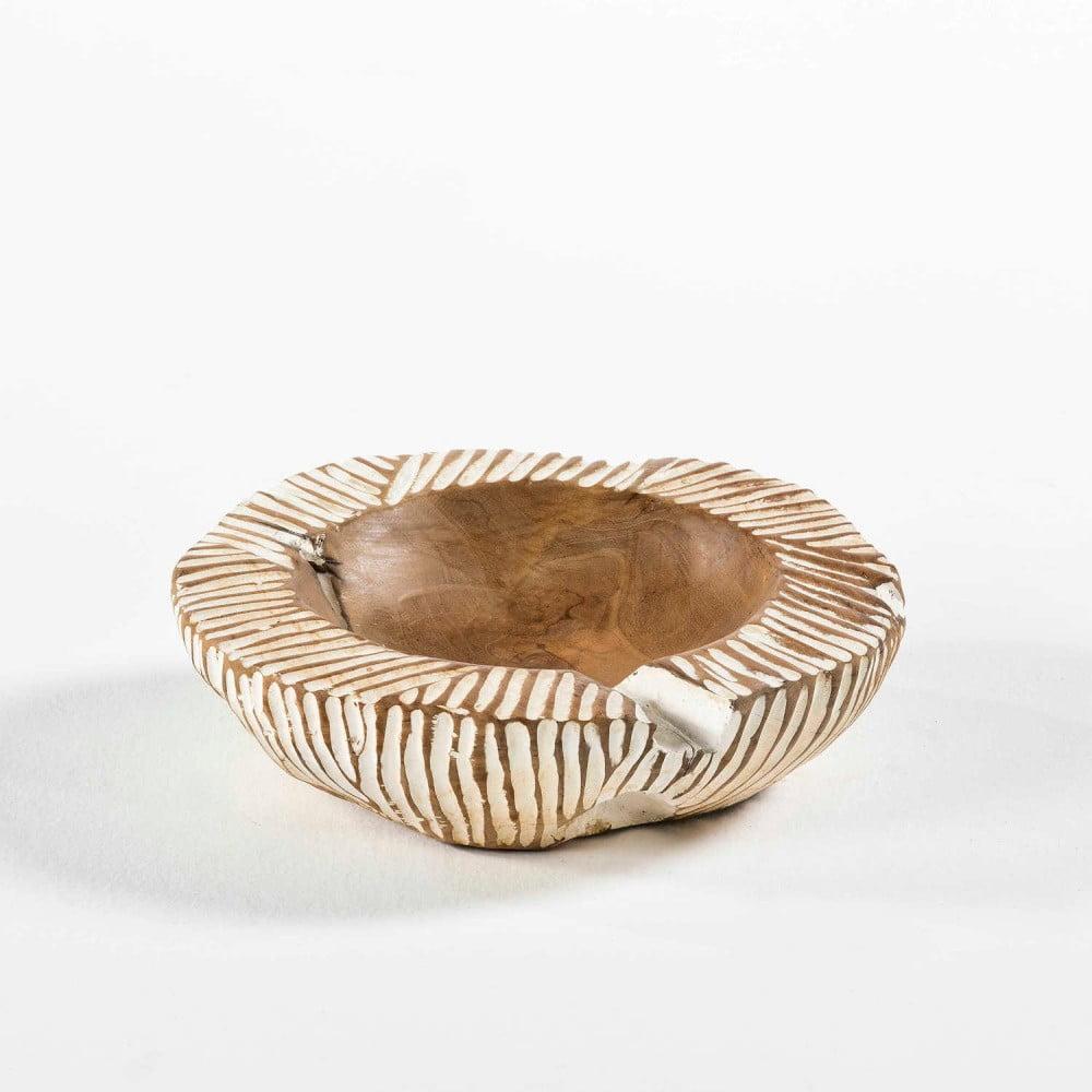 Miska z dreva a keramiky Thai Natura, Ø 30 cm