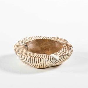 Miska z dreva a keramiky Thai Natura, Ø30 cm