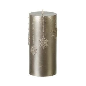 Zlatá sviečka ParlaneFlakes, 15 cm