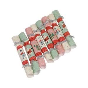Menšie vianočné vystreľujúce bonbóny Rex London Festive Family