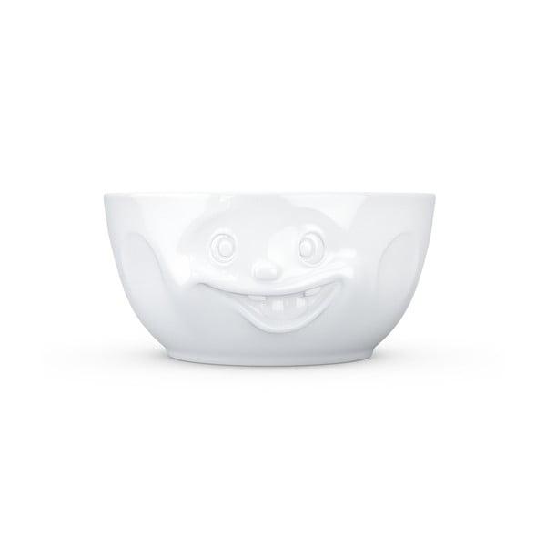 Veľká biela misa z porcelánu 58products Out of Control