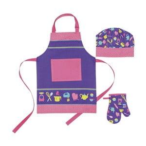 Detská sada zástery, čapice a kuchynskej rukavice I Love Baking