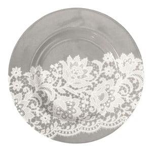 Malý tanier Liva Warm Grey, 15 cm