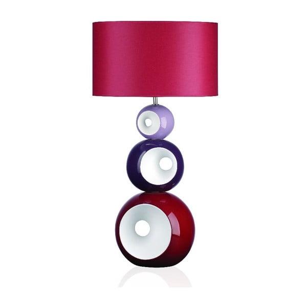 Stolová lampa Orion, ružová