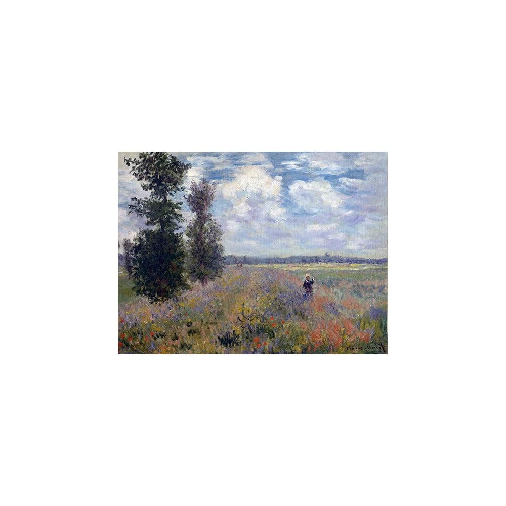 Reprodukcia obrazu Claude Monet - Poppy Fields near Argenteuil, 40 × 30 cm