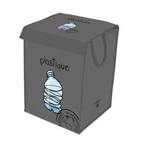Sivý kôš na recyklovanie plastov Incidence  Rubbish