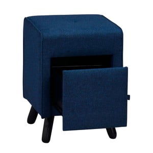 Modrá lavica so zásuvkou Folke Scylla