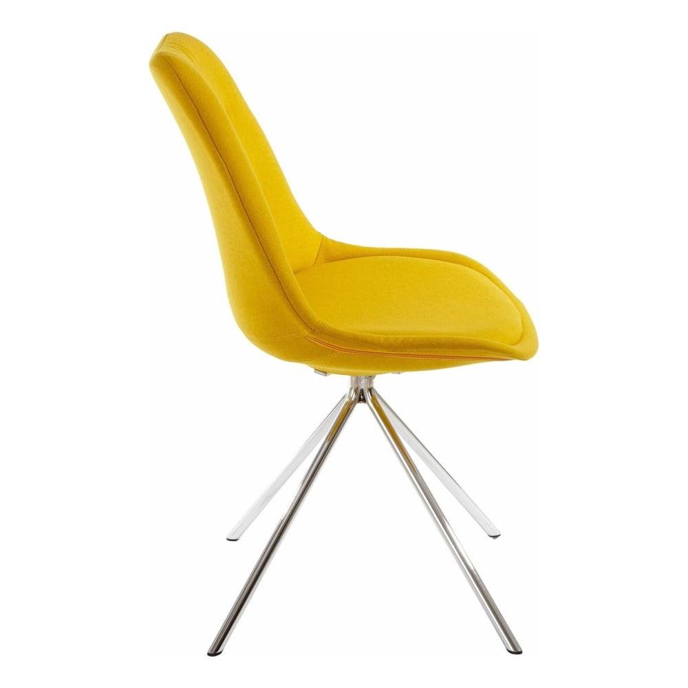 Sada 2 žltých jedálenských stoličiek Støraa Dylan | Bonami