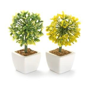 Sada 2 umelých kvetov Surtida