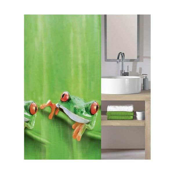Sprchový záves Charlie Green, 180x200 cm