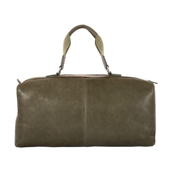 Pánska cestovná taška Vintage Green Army