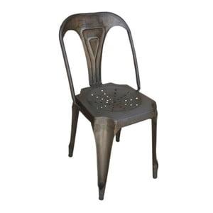 Kovová stolička Chaise Naturelle