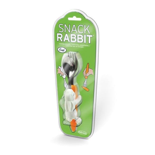 Detský príbor Fred & Friends Snack Rabbit