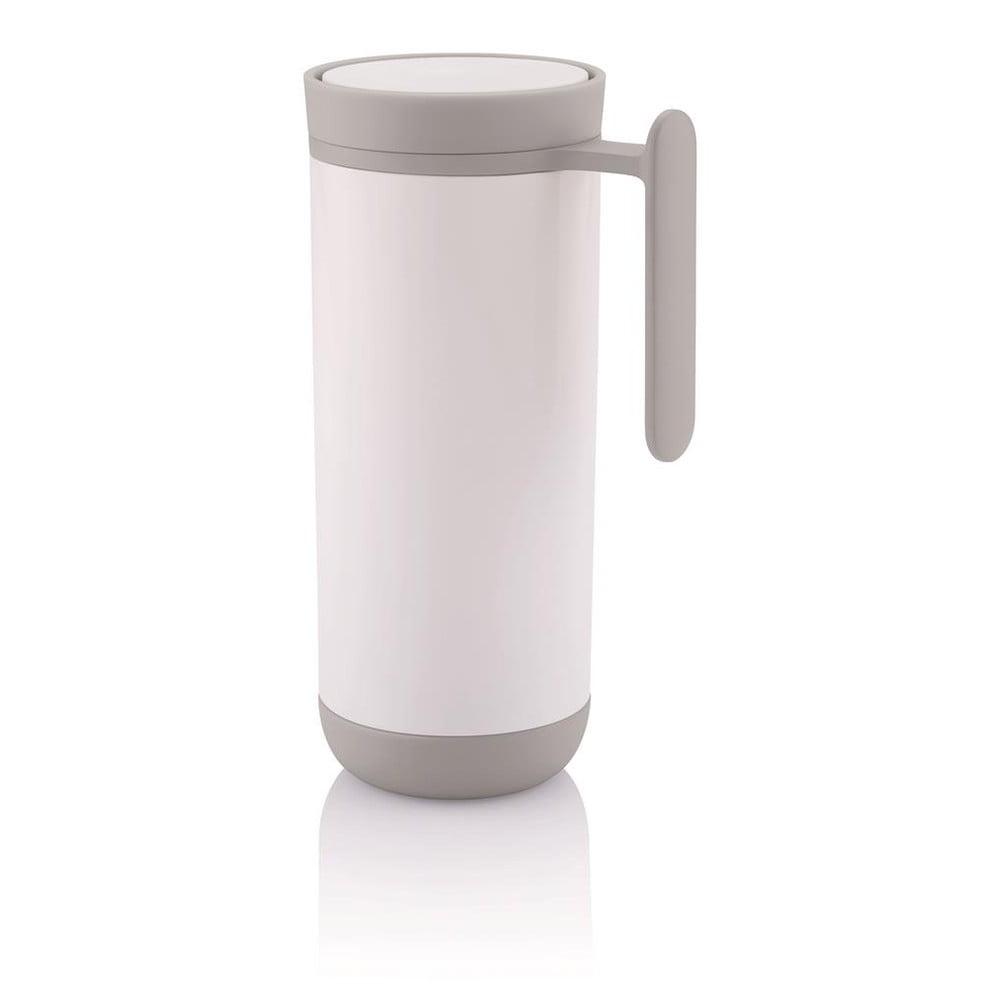 Biely cestovný termohrnček s uchom XD Design Clik 796d529bf40