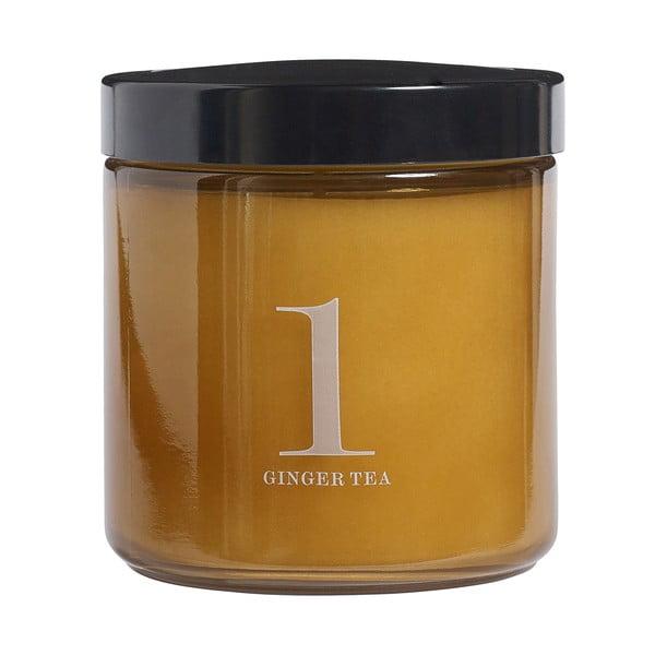 Vonná sviečka Relax, vôňa zázvorového čaju