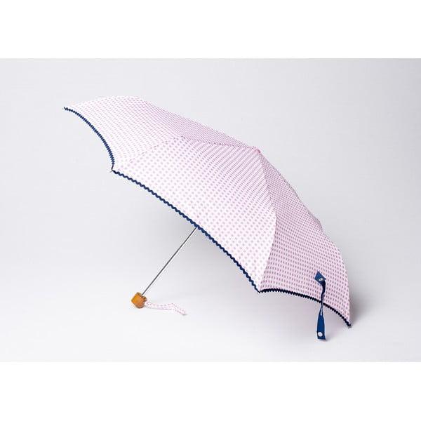 Skladací dáždnik Vichy, ružový