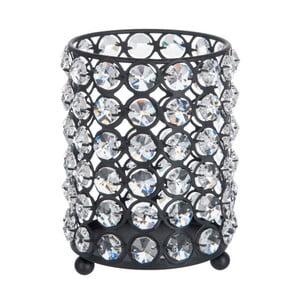 Svietnik Glass Ball Gliter, 12x14 cm
