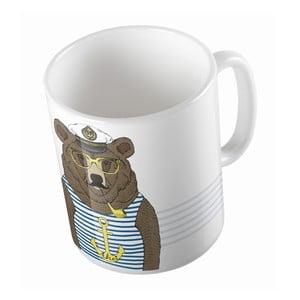 Keramický hrnček Bear Sailor, 330 ml