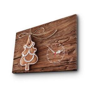Obraz Christmas s hodinami no. 1, 45x70cm