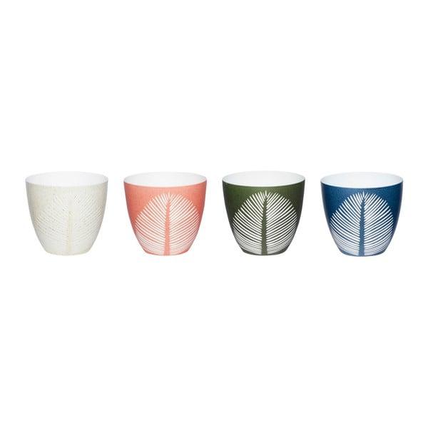 Sada 4 svietnikov na čajové sviečky Hübsch Trudo