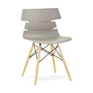 Sivá jedálenská stolička Kokoon Strata