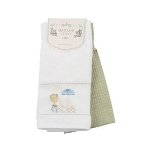 Sada 2 bavlnených uterákov Madame Coco Prince, 40 x 60 cm