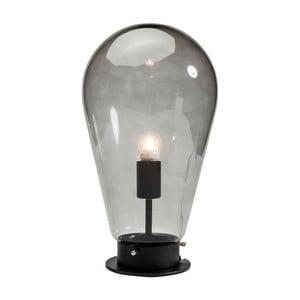 Čierna stolová lampa Kare Design Bulb