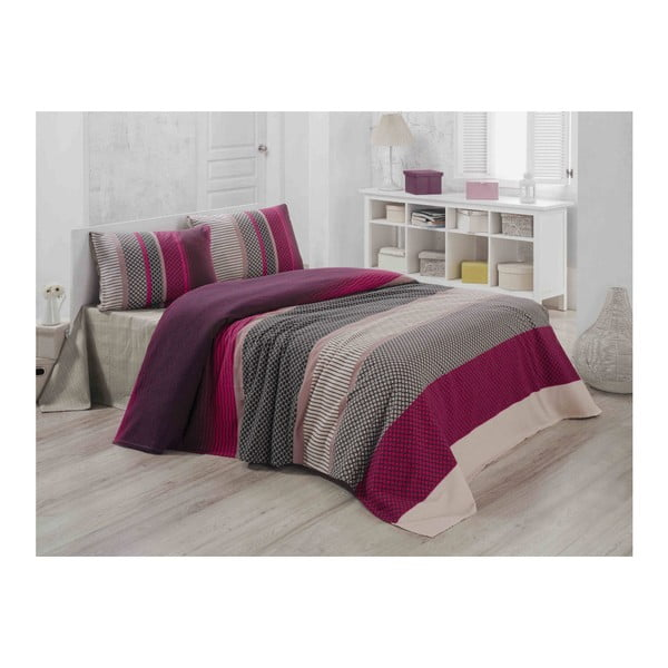 Ľahká prešívaná bavlnená prikrývka cez posteľ Carro Mundo, 140×200 cm
