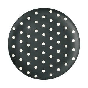 Servírovací tanier z melamínu White Dots