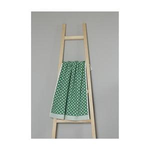 Zelený bavlnený uterák My Home Plus Spa, 50×70 cm