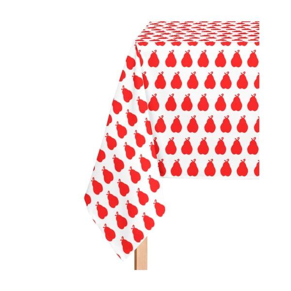 Obrus Poire Rojo, 135x300 cm