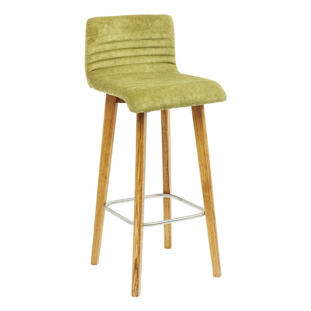 Sada 2 zelených barových stoličiek Kare Design Lara