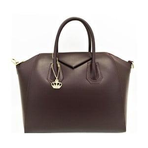 Kožená kabelka Tosca Brown